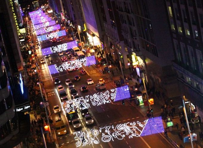 Navidades Taxi Madrid