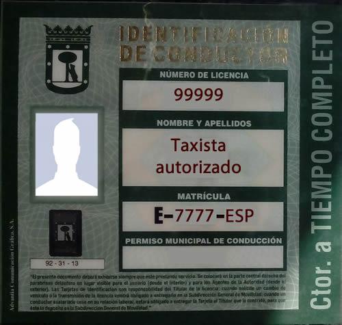 Tarjeta-de-identificacion-de-taxista