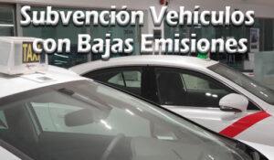 Subvención Vehículos con Bajas Emisiones